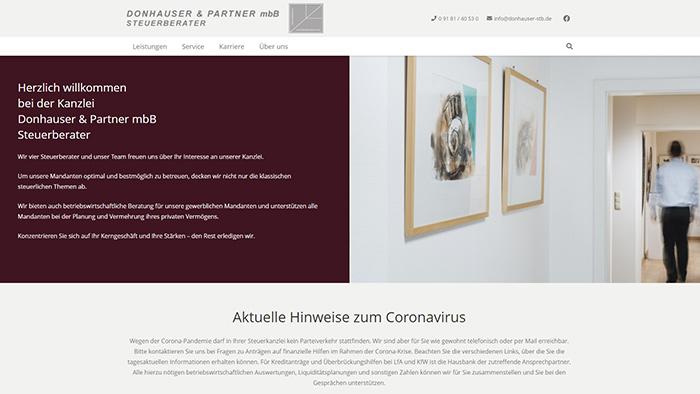 Donhauser & Partner mbB - Steuerberater