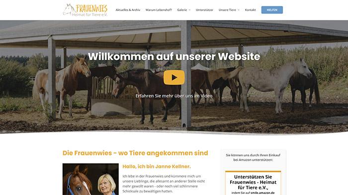 Frauenwies - Heimat für Tiere e.V.